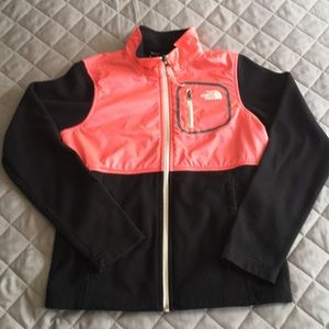 North Face Child size M fleece jacket